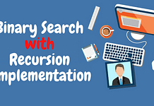 Binary Search with Recursion