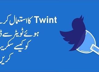 Scraping Twitter Data